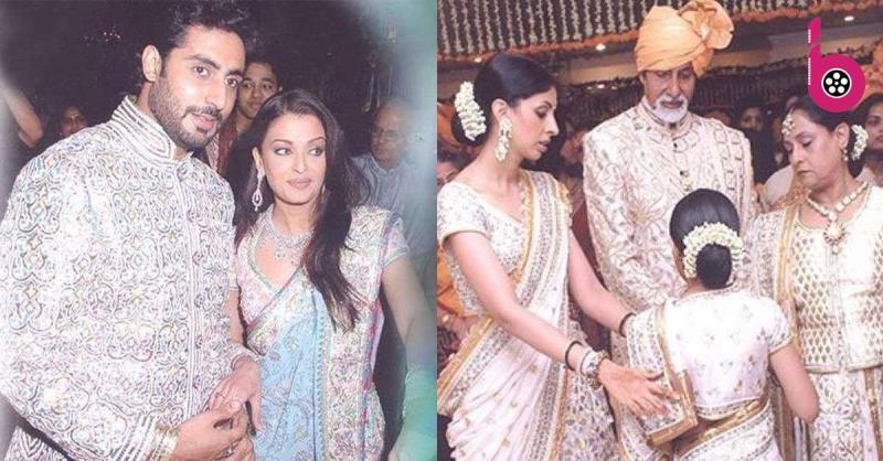 ऐश्वर्या राय बच्चन और अभिषेक बच्चन की शादी की अनदेखी तस्वीरें 12 साल बाद आयी सामने