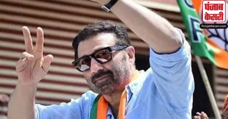 भाजपा सांसद सनी देओल बोले- मैं राजनीति में अपना प्रचार करने नहीं आया हूं