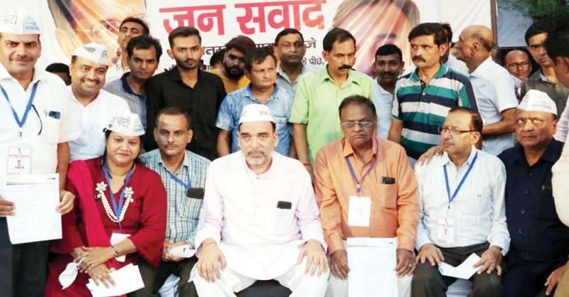 'भाजपा-कांग्रेस में दिल्ली में केजरीवाल का मुकाबला करने वाला कोई नेता नहीं'