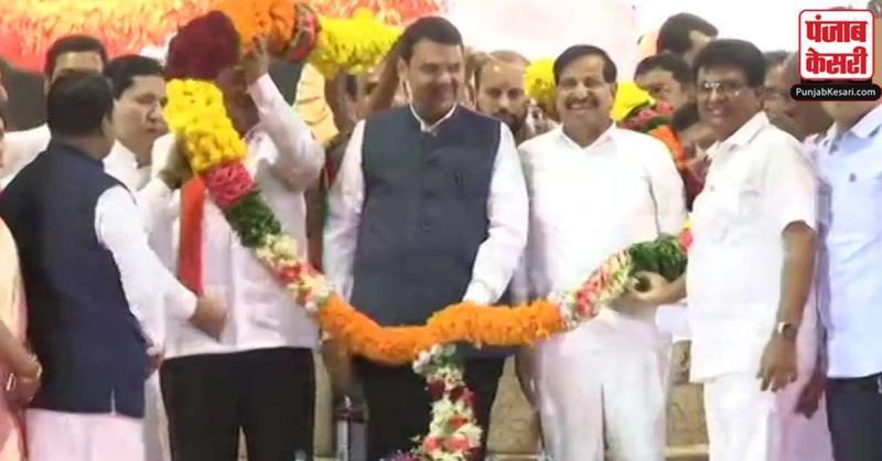 महाराष्ट्र : विधानसभा चुनाव से पहले राकांपा को झटका, गणेश नाइक भाजपा में हुए शामिल