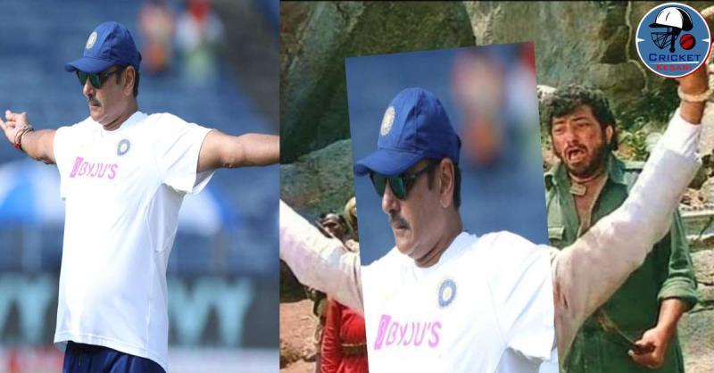 आईसीसी ने टीम इंडिया के हेड कोच रवि शास्त्री की तस्वीर की शेयर, यूजर्स ने किया जमकर ट्रोल
