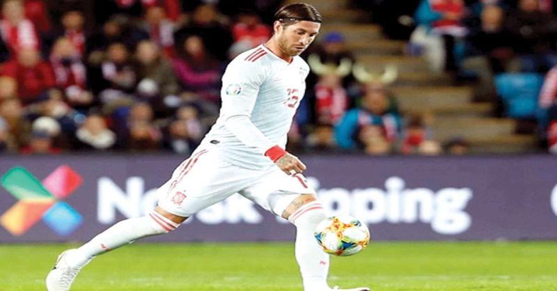 सर्जियो रामोस सबसे ज्यादा मैच खेलने वाले यूरोपीय खिलाड़ी बने