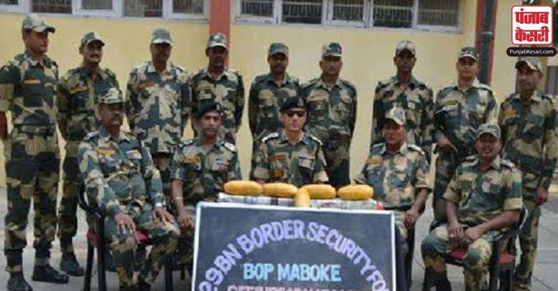 भारत-पाकिस्तान अंतरराष्ट्रीय सरहद पर करोड़ों की हेरोइन बरामद