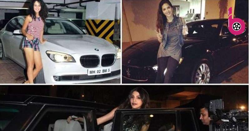 लग्जरी गाड़ियों की  शौक़ीन है बॉलीवुड की ये हसीनाएं, प्रियंका के पास है 5.5  करोड़ की रोल्स रॉयस