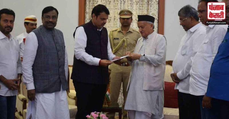 LIVE : देवेंद्र फडणवीस ने महाराष्ट्र के मुख्यमंत्री पद से इस्तीफा दिया