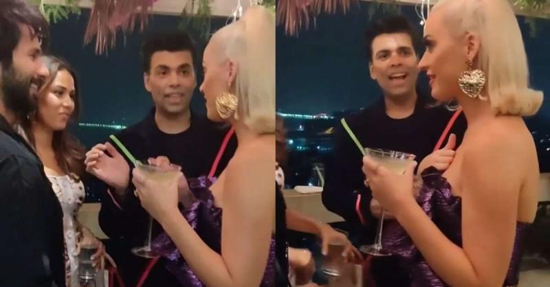 शाहिद कपूर की पत्नी मीरा राजपूत की बात सुनकर कैटी पेरी के चेहरे का उड़ा रंग, देखें वायरल वीडियो