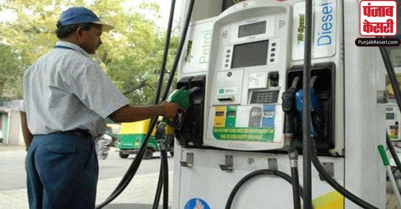पेट्रोल के दाम में बढ़ोतरी का सिलसिला जारी, डीजल के भाव स्थिर