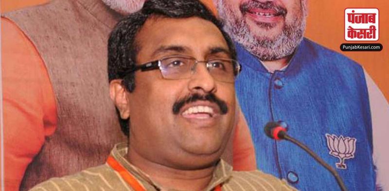 जम्मू कश्मीर में जल्द से जल्द राजनीतिक गतिविधियां बहाल होनी चाहिये : राम माधव