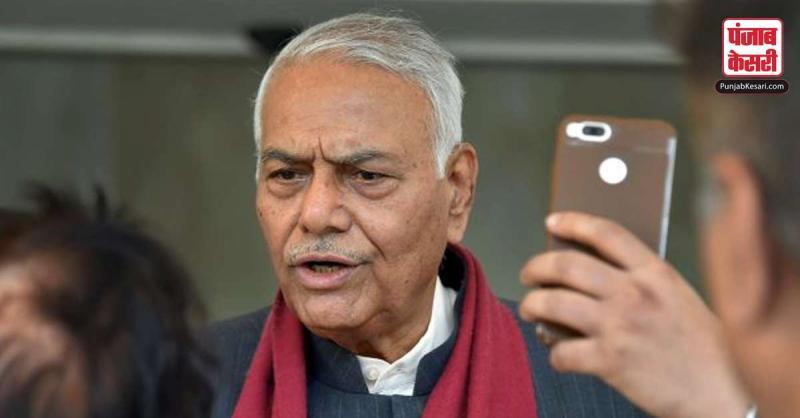 यशवंत सिन्हा ने 22 से 25 नवंबर तक कश्मीर यात्रा की घोषणा की