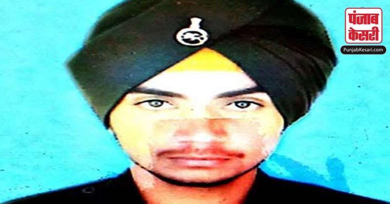 पंजाब के एक और सपूत मनप्रीत सिंह ने जम्मू- कश्मीर में पिया शहादत का जाम