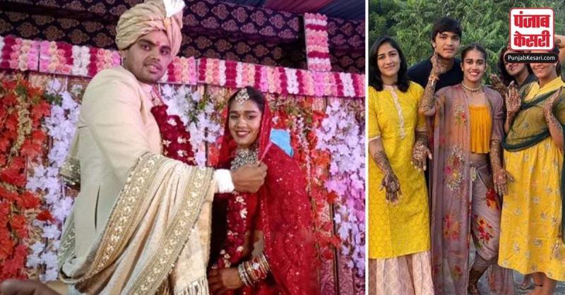 आठ फेरे लेकर पहलवान विवेक संग शादी के बंधन में बंधीं बबीता फोगाट