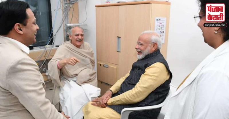 PM मोदी ने पुणे के अस्पताल में अरुण शौरी से मुलाकात की