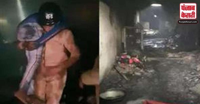 दिल्ली : आग की त्रासदी के बाद अस्पताल में भयावह दास्तां
