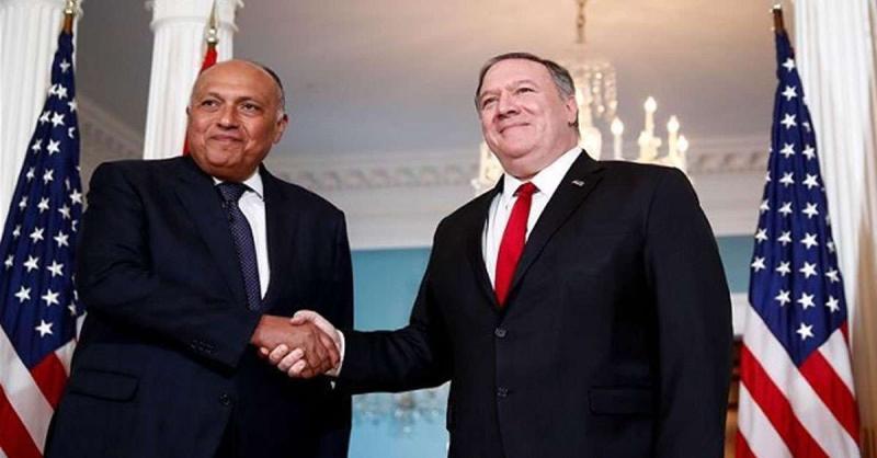 मिस्र के विदेश मंत्री समीह शौकरी से मिले पोम्पियो, क्षेत्रीय मुद्दे पर की चर्चा