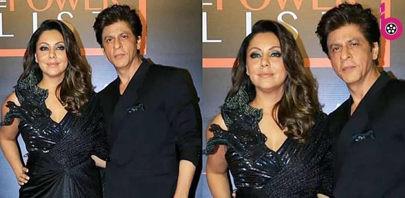 शाहरुख खान पत्नी गौरी की ड्रेस संभालते हुए आए नजर,लोगों को भाया जेंटलमैन का ये अनोखा अंदाज