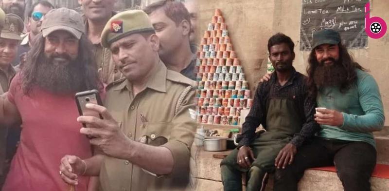 इस अंदाज में बनारस घाट पर आमिर खान आए नजर,एक्टर को देख उत्साह से झूम उठे लोग