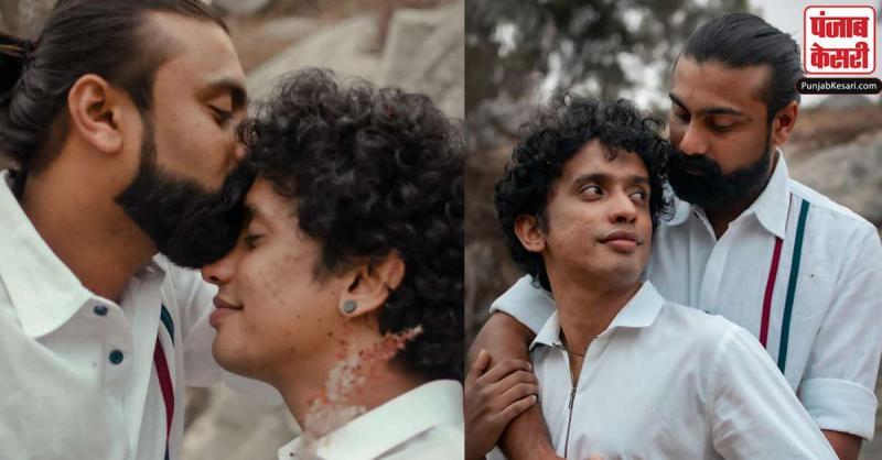 केरल के इस Gay Couple का प्री-वेडिंग फोटोशूट सोशल मीडिया पर हुआ वायरल,देखें तस्वीरें