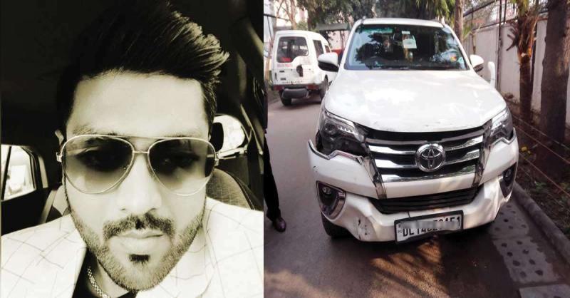 फॉर्च्यूनर कार में सिर पर गोली लगने से कारोबारी की संदिग्ध मौत