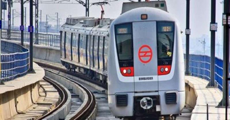 दिल्ली में प्रदर्शन के मद्देनजर लोक कल्याण मार्ग मेट्रो स्टेशन बंद