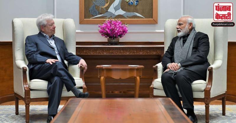 प्रधानमंत्री मोदी ने नोबेल पुरस्कार विजेता रिचर्ड थेलर से बातचीत की