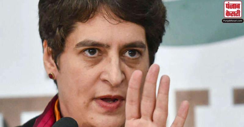 गौरव चंदेल हत्याकांड को लेकर प्रियंका गांधी का योगी सरकार पर हमला