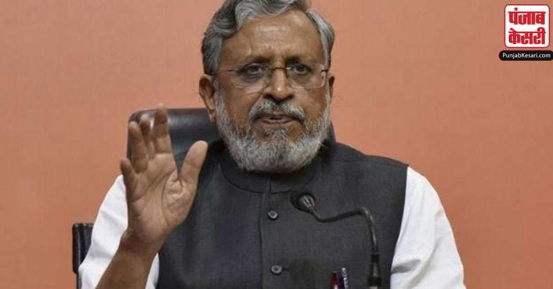 भू-जल दोहन के नियंत्रण के लिए विधेयक लायेगी सरकार : सुशील कुमार मोदी