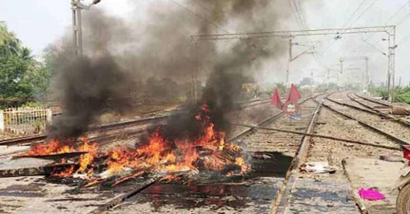 बंगाल, असम और बिहार में CAA के खिलाफ प्रदर्शन के दौरान रेलवे संपत्ति को नष्ट करने के आरोप में 21 लोग गिरफ्तार