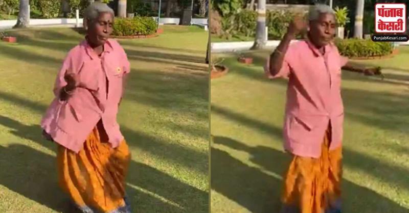इस दादी ने साड़ी के ऊपर टी-शर्ट पहनकर लगाए जोर के ठुमके,लोगों ने किया चीयर