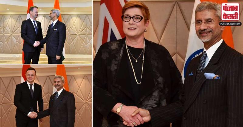 जयशंकर ने ऑस्ट्रेलिया, डेनमार्क और हंगरी के विदेश मंत्रियों से बातचीत की