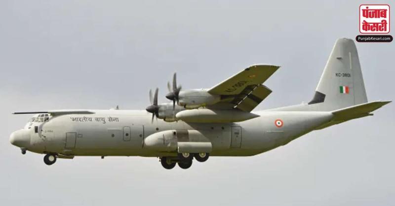 लद्दाख में 'चादर ट्रेक' के दौरान फंसे 107 लोगों को वायुसेना ने बचाया