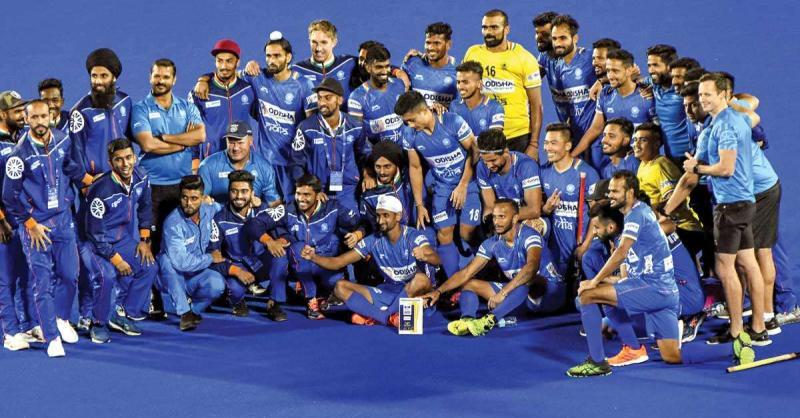 भारत ने शूटआउट में नीदरलैंड को हराया