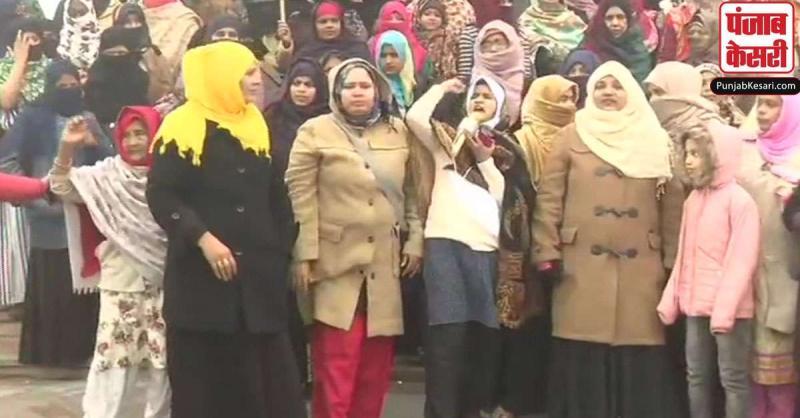 लखनऊ में CAA और NRC के खिलाफ प्रदर्शन कर रही 160 महिलाओं पर केस दर्ज