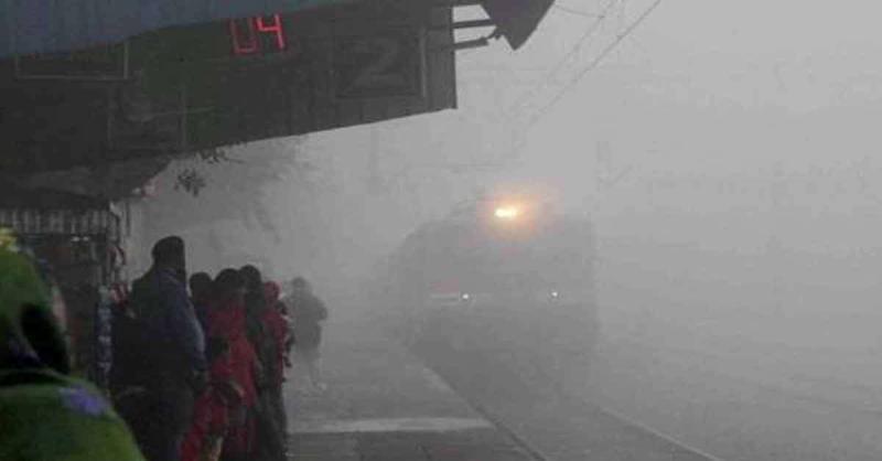 दिल्ली आने वाली 21 ट्रेनें 1 से 6 घंटे तक लेट