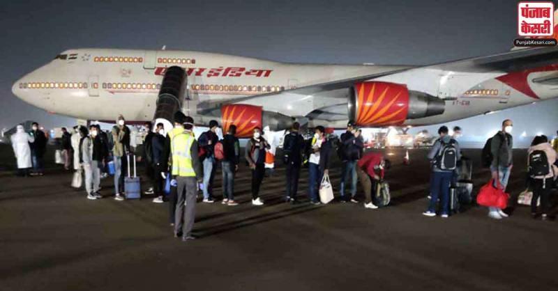 लॉकडाउन के बीच लंदन में फंसे 329 भारतीय नागरिकों को लेकर एयर इंडिया का विमान मुंबई पहुंचा