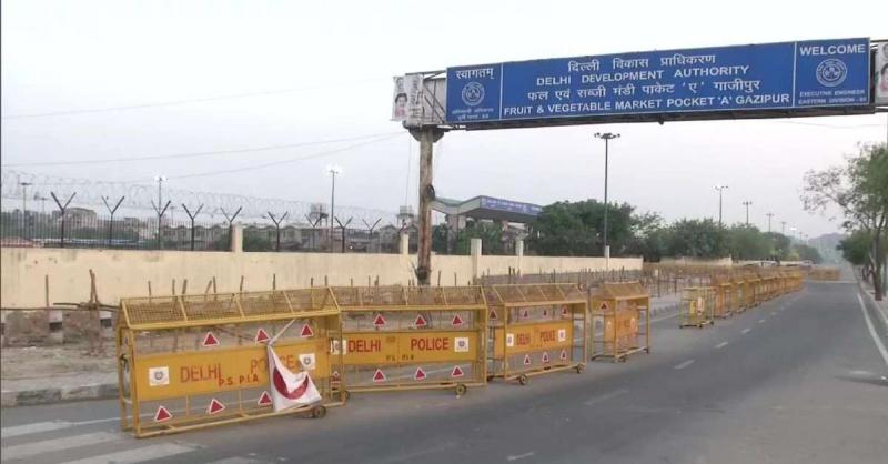 गाजीपुर मंडी के सचिव और उपसचिव कोरोना संक्रमित, 2 दिन के लिए बंद हुई मंडी