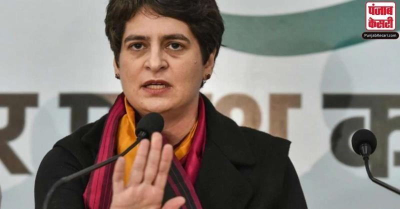 प्रियंका का CM योगी पर तंज, कहा-BJP का झंडा लगवा दें, लेकिन मजदूरों के लिए उन बसों का करें इस्तेमाल