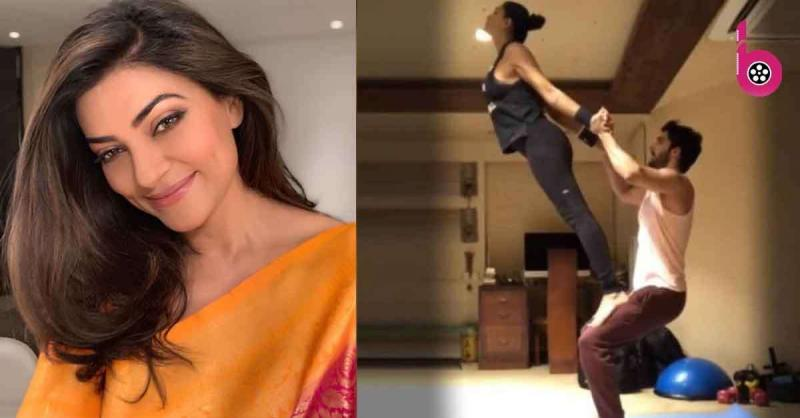 बॉयफ्रेंड रोहमन के साथ सुष्मिता सेन ने कुछ इस अंदाज में 'बैलेंस' किया अपना रिलेशनशिप, देखें हॉट वर्कआउट वीडियो