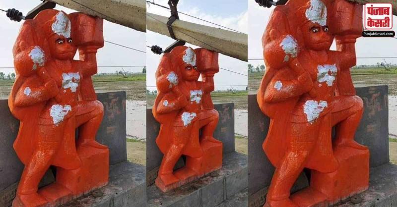जब संकट मोचन की मूर्ति पर गिरा बिजली का खंभा,फिर भगवान हनुमान के चमत्कार से हुआ कुछ ऐसा
