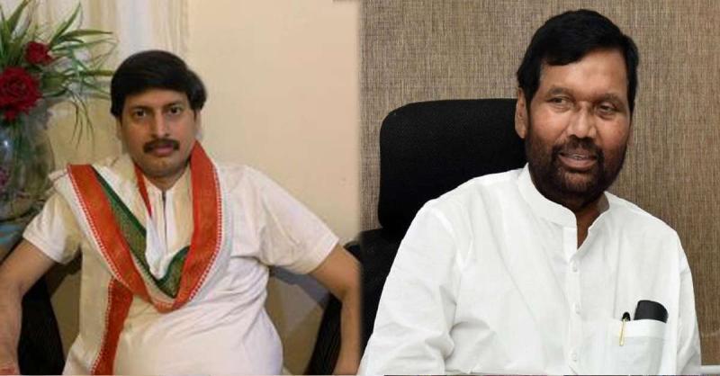 आरक्षण पर नियत साफ हो तो 2002 की तरह दें इस्तीफा दे रामविलास पासवान: ललन कुमार