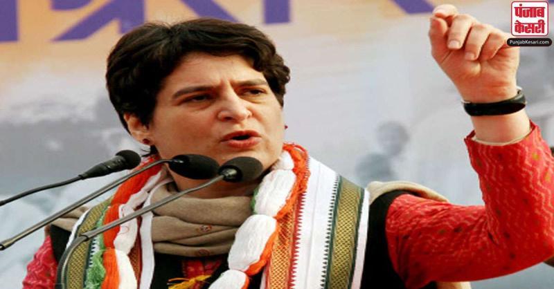 प्रियंका ने CM योगी पर साधा निशाना, कहा- UP सरकार सच्चाई सामने लाने पर करवा रही FIR