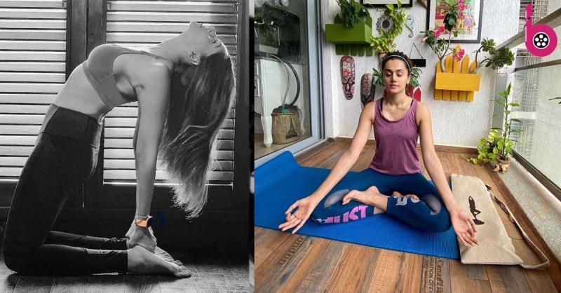 International Yoga Day 2020: बॉलीवुड सेलेब्स इस साल घर पर रह कर ऐसे मना रहे हैं योग दिवस, देखें तस्वीरें