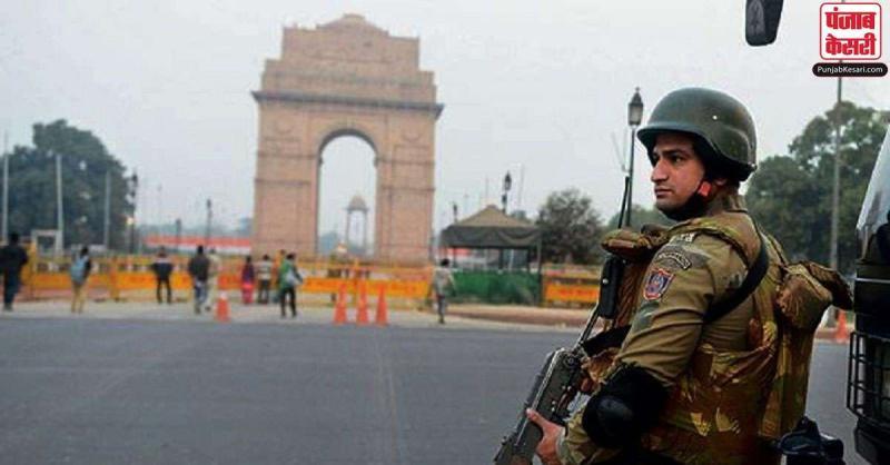 दिल्ली में आतंकवादी हमले की खुफिया सूचना मिलने पर बढ़ाई गई सुरक्षा, हाई अलर्ट पर पुलिस