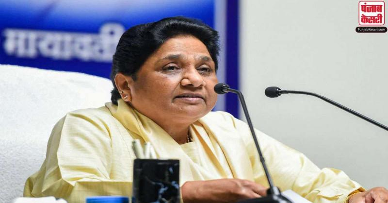 मायावती ने महिला सुरक्षा के मामले में UP सरकार पर लगाया लापरवाही का आरोप