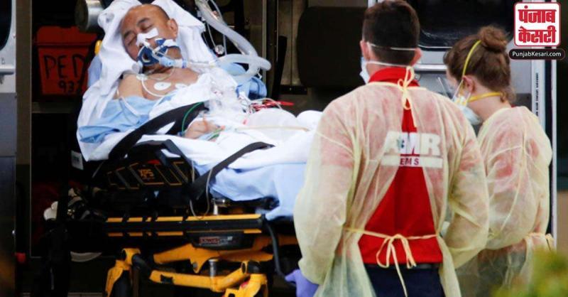 अमेरिका में कोरोना कहर जारी, 24 घंटे में आये 40,000 नए मामले, 124000 लोगों की मौत