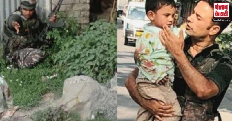 सोपोर हमले में गोलियों की बौछार में CRPF के इस जवान ने कूदकर 3 साल के मासूम की ऐसे बचाई जान, लोगों ने की सराहना