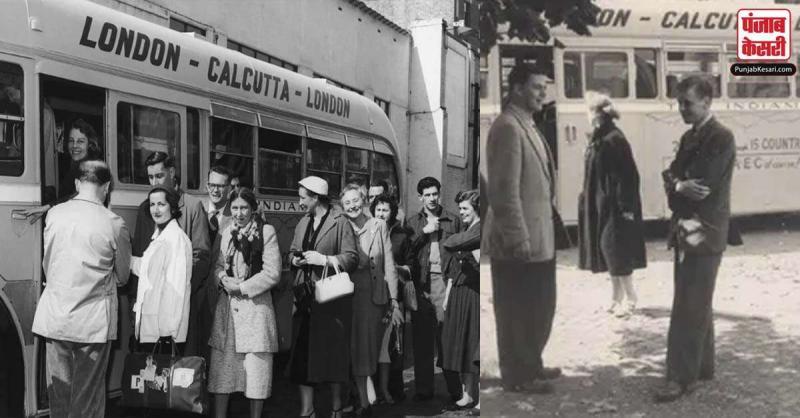 ये बस कोलकाता से लंदन 1950 के दशक में जाती थी, देखें वायरल तस्वीरें