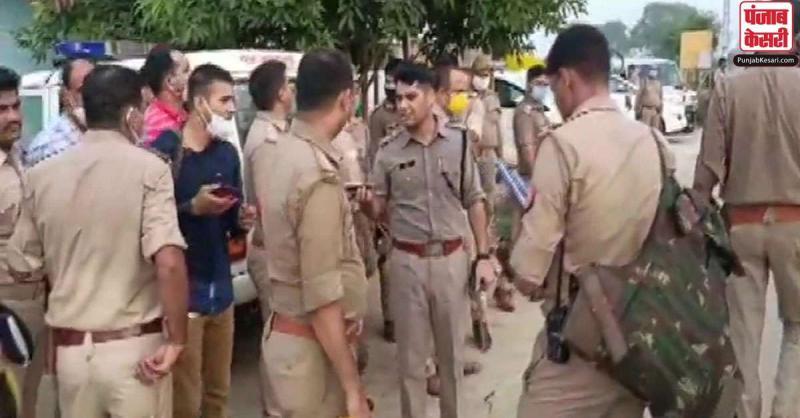 कानपुर में अपराधियों को पकड़ने गई पुलिस पर हमला, मुठभेड़ में आठ पुलिसकर्मी शहीद