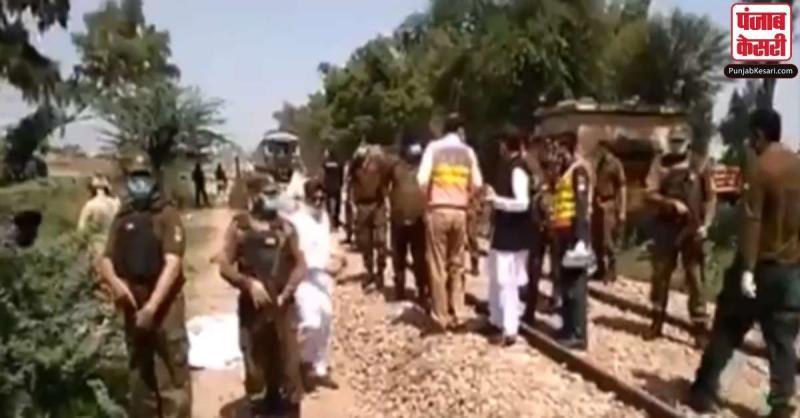 पाकिस्तान में ट्रेन-बस की टक्कर में 29 लोगों की मौत, मृतकों में अधिकतर सिख श्रद्धालु शामिल