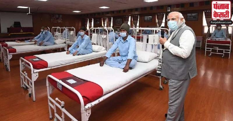 पीएम मोदी और घायल सैनिकों की मुलाकात वाले हॉस्पिटल को फर्जी बताने के दावे की सेना ने खोली पोल