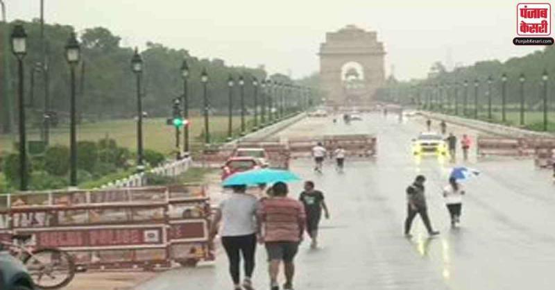 दिल्ली में रातभर चली तेज हवाओं और बारिश ने दिलाई गर्मी से राहत, मौसम हुआ सुहाना